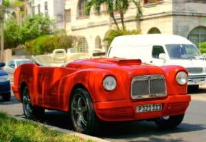 vintage car cuba