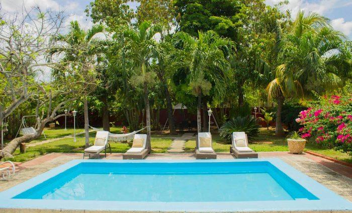 casas con piscina en cuba